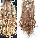 S-noilite® 24' (60 cm) extensiones de cabello cabeza completa clip en extensiones de pelo Ombre...