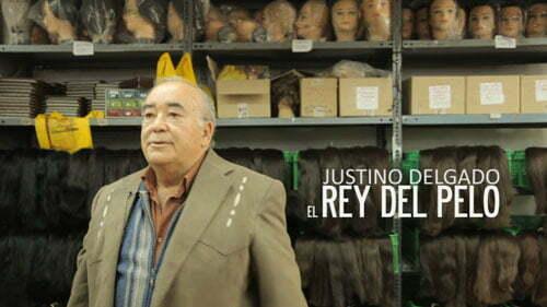 Justino Delgado, rey del pelo