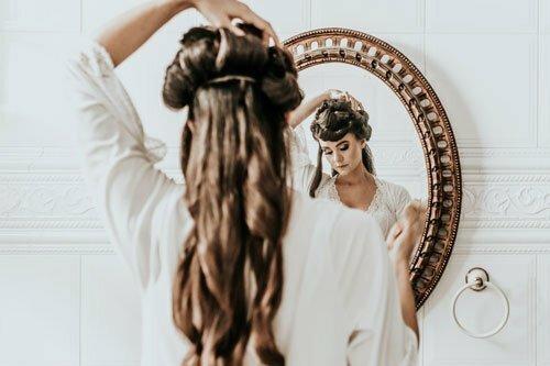 Cuidado extensión de pelo
